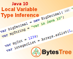 Java 10 - Local Variable Type Inference